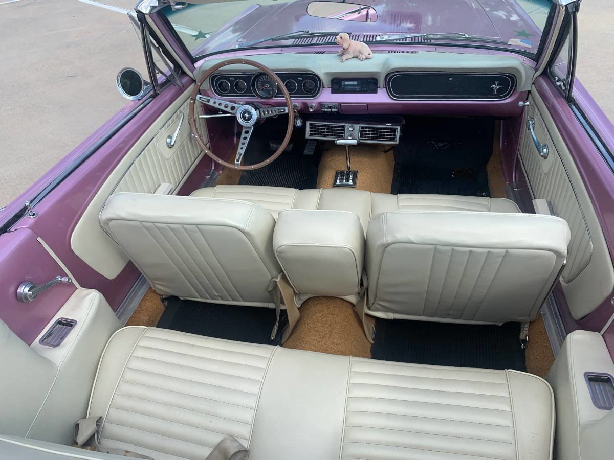 1966 Mustang Convertible For Sale (picture 2 of 6)