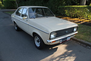 1980 Original Ford Escort MkII 1.1 L With 42,000 Miles Since New SOLD