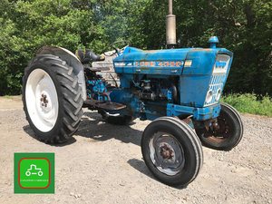 1965 FORD 4000 BRILLIANT STARTING RUNNING ALL WORKING TRACTOR  SOLD