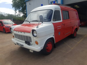 1975 1976 Ford Transit Mk1 - LHD - Ex German Fire Service For Sale