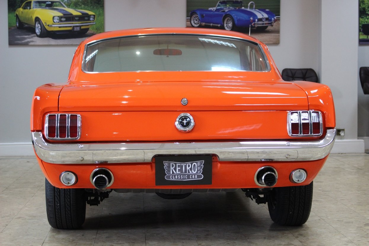 1965 Ford Mustang GT 2+2 Fastback 289 V8 | 4 Speed Toploader SOLD (picture 5 of 10)
