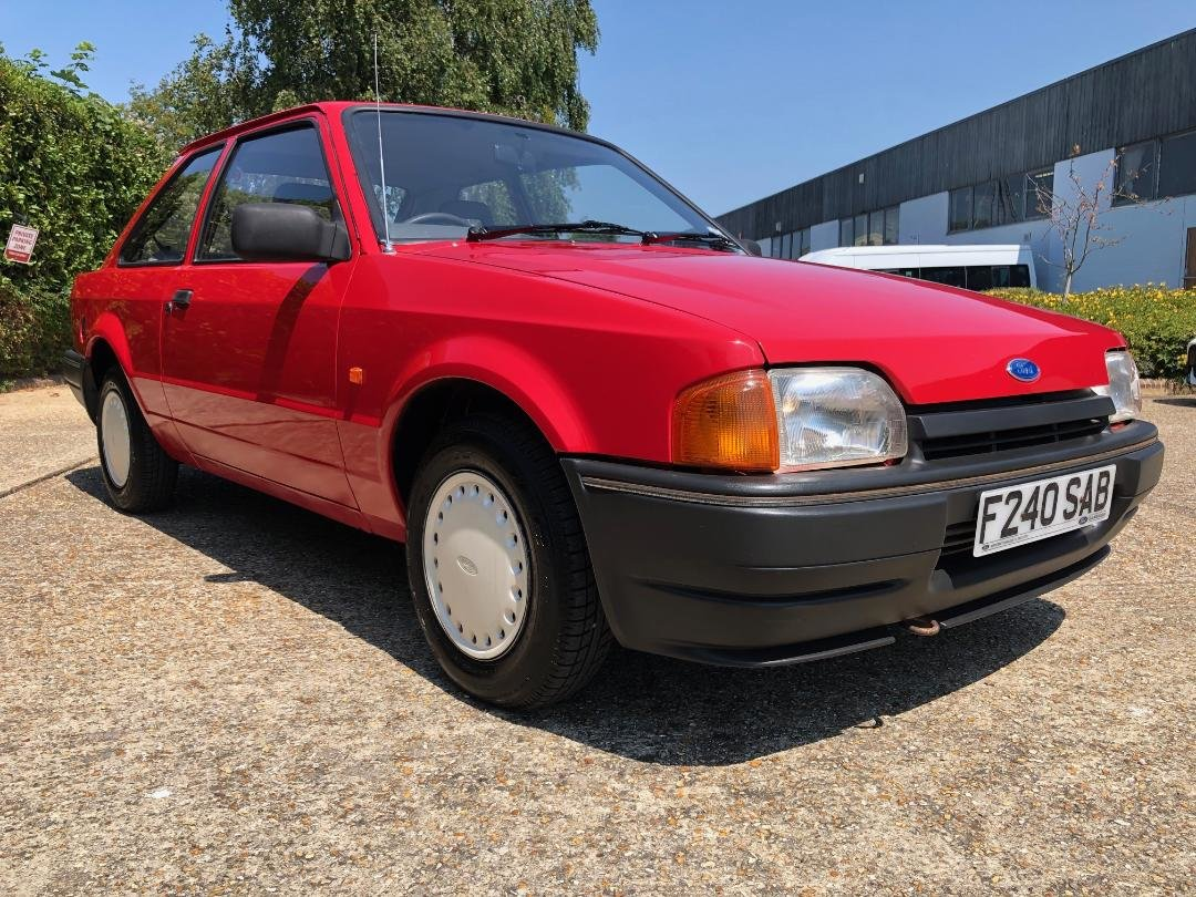 1988 Ford Escort 1.3 Popular. Very original and rare. For Sale (picture 1 of 6)