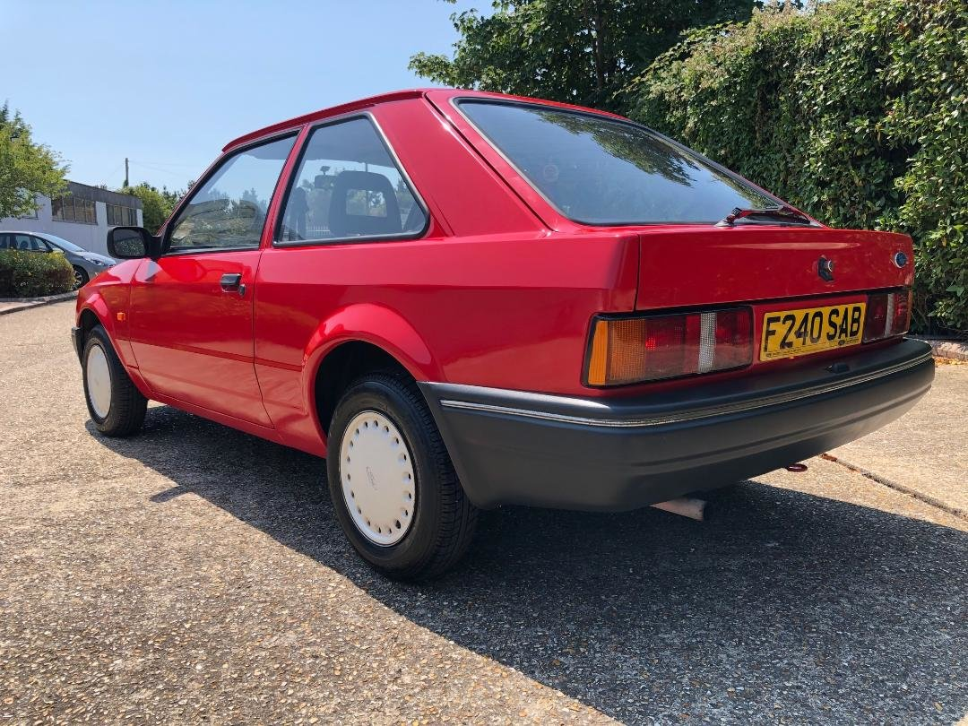 1988 Ford Escort 1.3 Popular. Very original and rare. For Sale (picture 3 of 6)