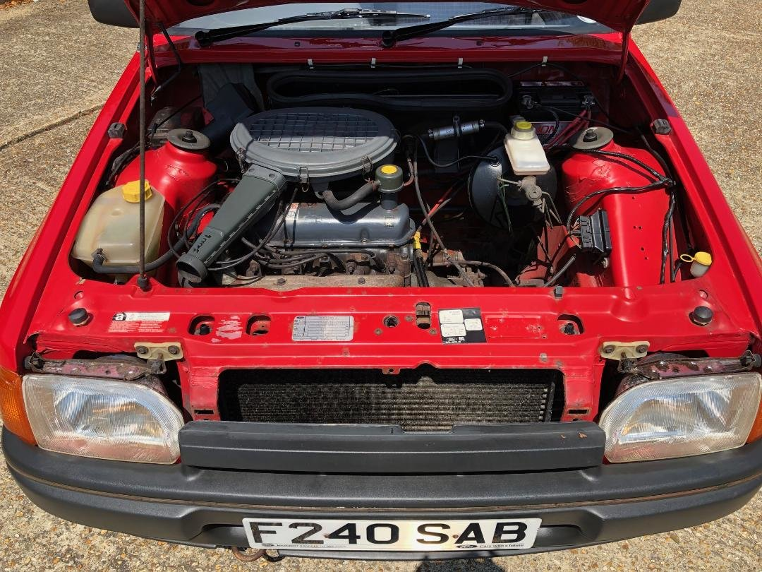 1988 Ford Escort 1.3 Popular. Very original and rare. For Sale (picture 6 of 6)