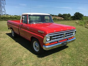 1971 Ford F250 camper sport special