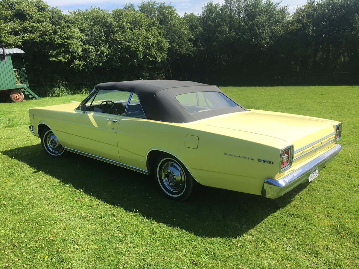1966 ford galaxie 500 convertible for sale For Sale (picture 1 of 6)