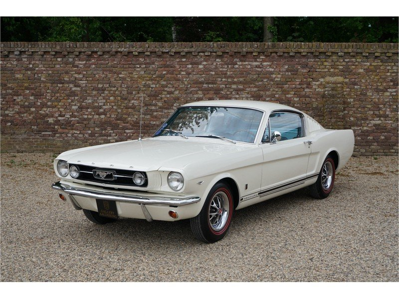 1966 Ford Mustang 289 Fastback automatic For Sale (picture 5 of 6)