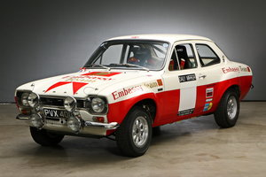 1971 Ford Escort MK1 RS 1600 Works Rally Car For Sale