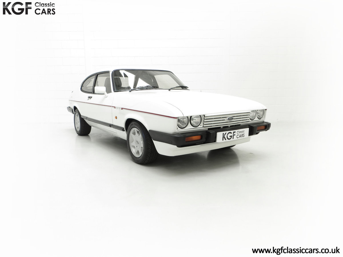 1987 A Fabulous E Registration Ford Capri 2.8 Injection For Sale (picture 1 of 24)