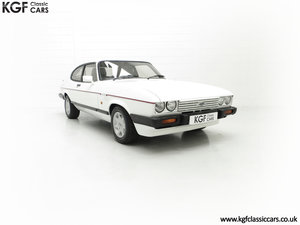A Fabulous E Registration Ford Capri 2.8 Injection