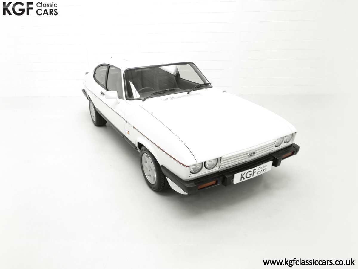 1987 A Fabulous E Registration Ford Capri 2.8 Injection For Sale (picture 2 of 24)