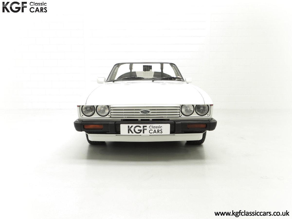 1987 A Fabulous E Registration Ford Capri 2.8 Injection For Sale (picture 3 of 24)
