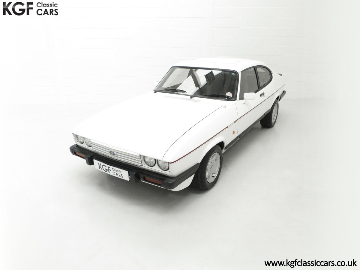 1987 A Fabulous E Registration Ford Capri 2.8 Injection For Sale (picture 5 of 24)