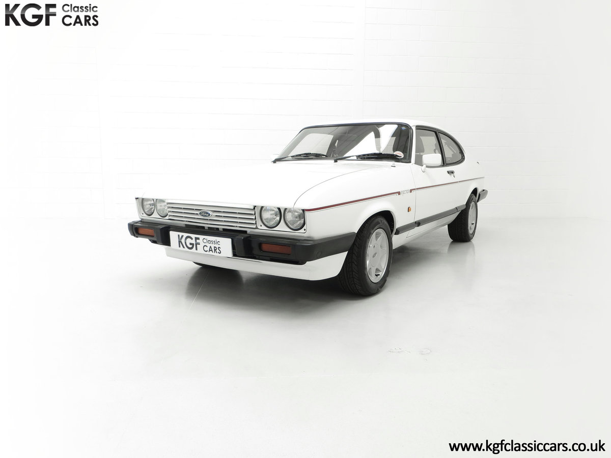 1987 A Fabulous E Registration Ford Capri 2.8 Injection For Sale (picture 6 of 24)