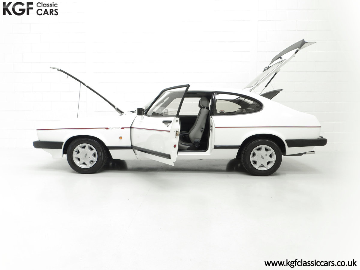 1987 A Fabulous E Registration Ford Capri 2.8 Injection For Sale (picture 7 of 24)