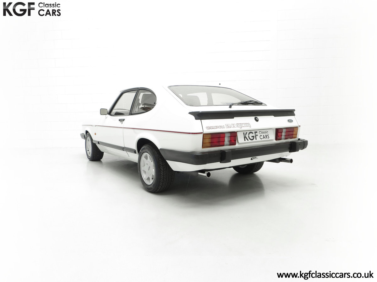 1987 A Fabulous E Registration Ford Capri 2.8 Injection For Sale (picture 8 of 24)