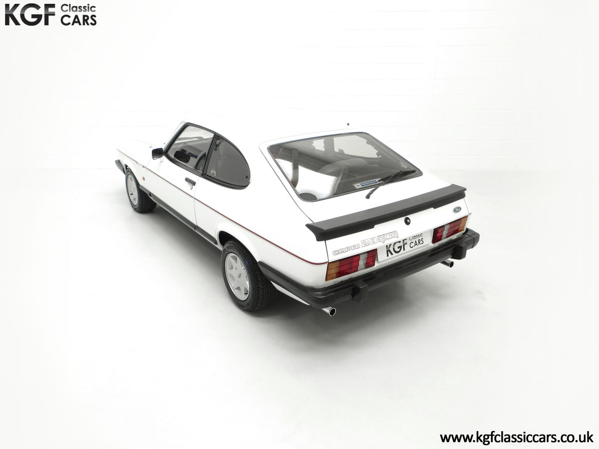 1987 A Fabulous E Registration Ford Capri 2.8 Injection For Sale (picture 9 of 24)