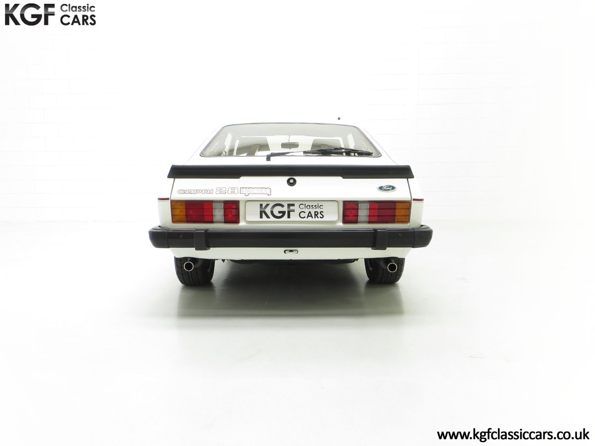 1987 A Fabulous E Registration Ford Capri 2.8 Injection For Sale (picture 10 of 24)