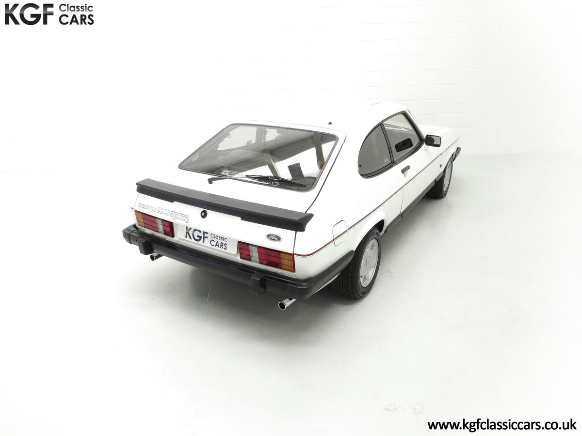 1987 A Fabulous E Registration Ford Capri 2.8 Injection For Sale (picture 12 of 24)