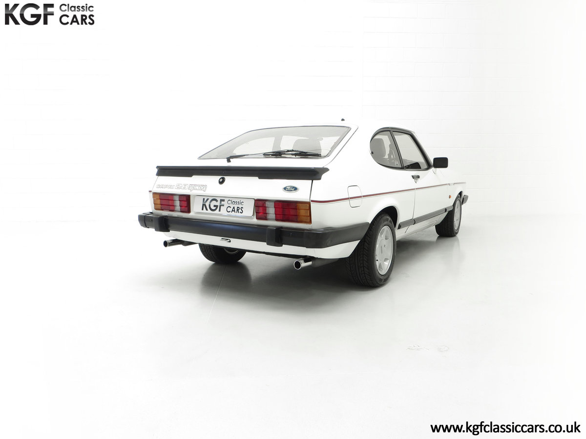 1987 A Fabulous E Registration Ford Capri 2.8 Injection For Sale (picture 13 of 24)