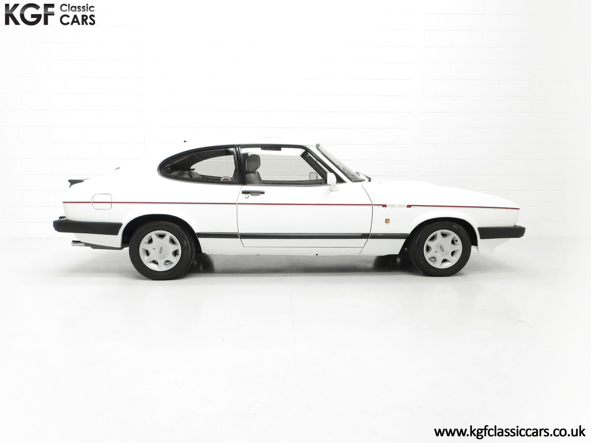 1987 A Fabulous E Registration Ford Capri 2.8 Injection For Sale (picture 14 of 24)