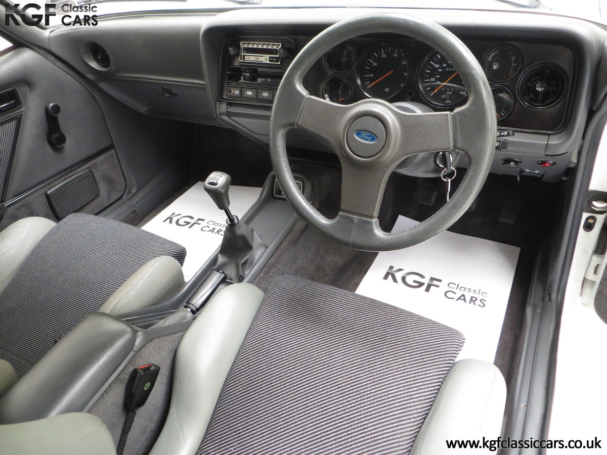 1987 A Fabulous E Registration Ford Capri 2.8 Injection For Sale (picture 18 of 24)