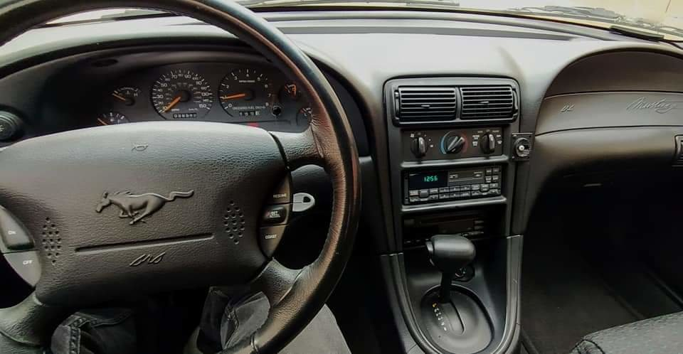 1998 LHD V8 Ford Mustang Sn 95 BLACK coupe V8 For Sale (picture 2 of 6)