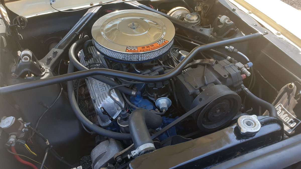 1965 Ford Mustang Coupe, 289ci, 4 barrel carb For Sale (picture 2 of 6)