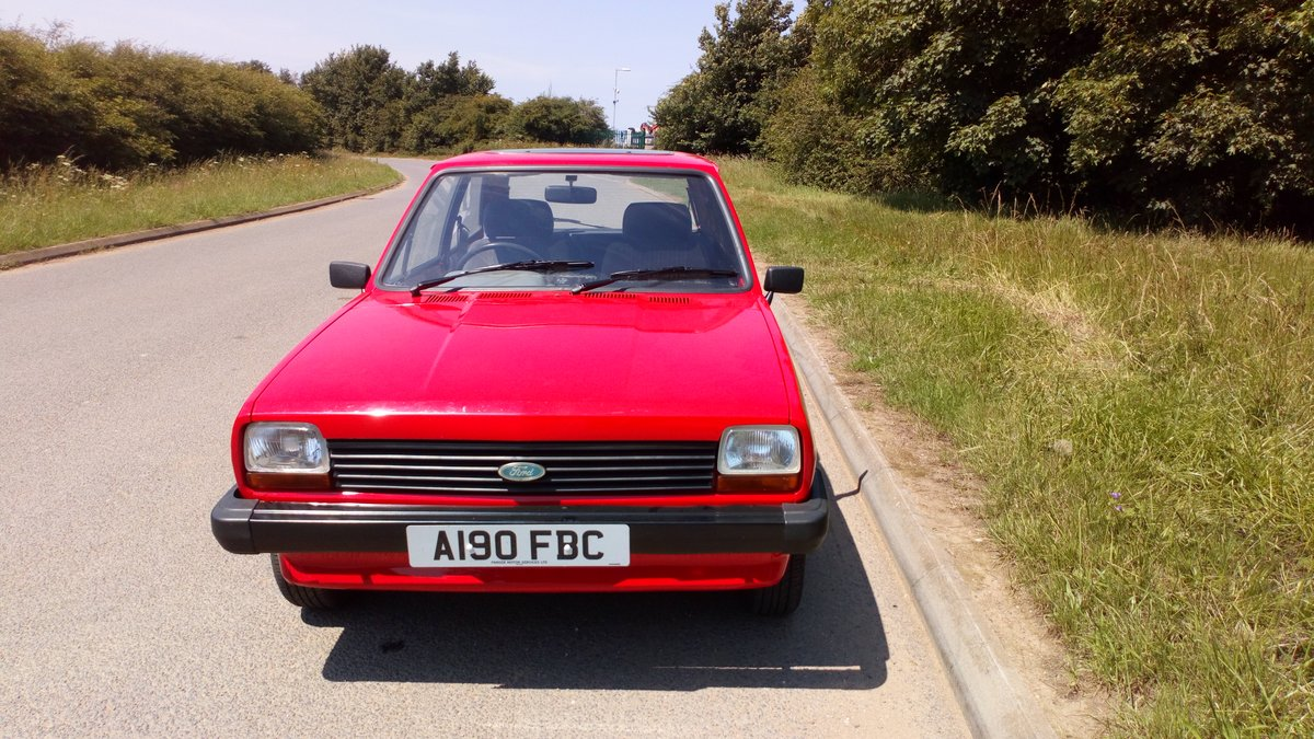 1983 Ford Fiesta Mk1 Popular 1.1  SOLD (picture 1 of 6)