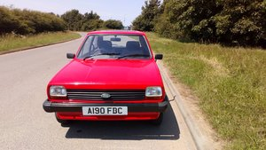 1983 Ford Fiesta Mk1 Popular 1.1