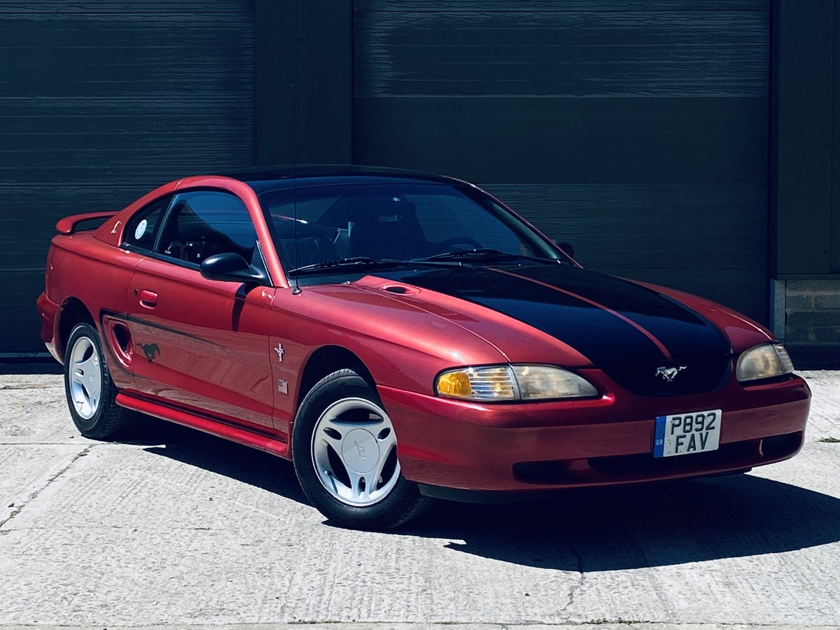 1996 Rare Ford Mustang 3.8 V6 Petrol Manual 5SP For Sale (picture 1 of 6)