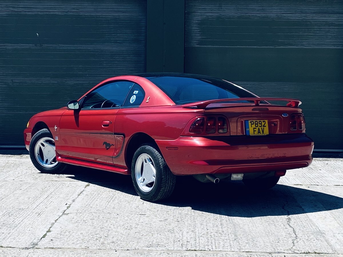 1996 Rare Ford Mustang 3.8 V6 Petrol Manual 5SP For Sale (picture 3 of 6)
