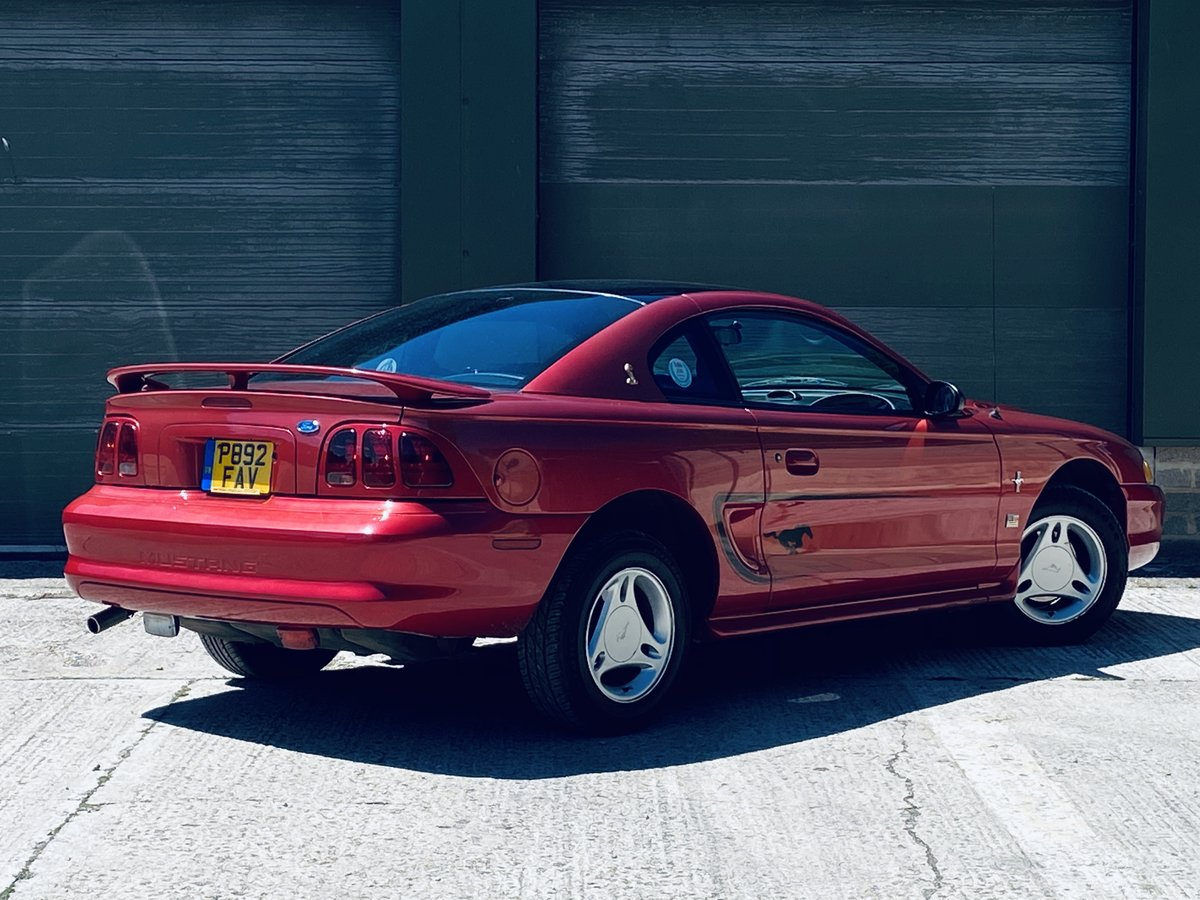 1996 Rare Ford Mustang 3.8 V6 Petrol Manual 5SP For Sale (picture 4 of 6)