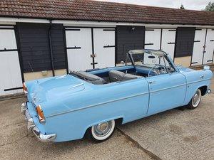 1959 Ford Consul Convertible Powder Blue