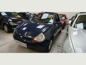 2008 BLUE FORD KA 1.3 STYLE* GENUINE 46,000 MILES*BEAUTIFUL