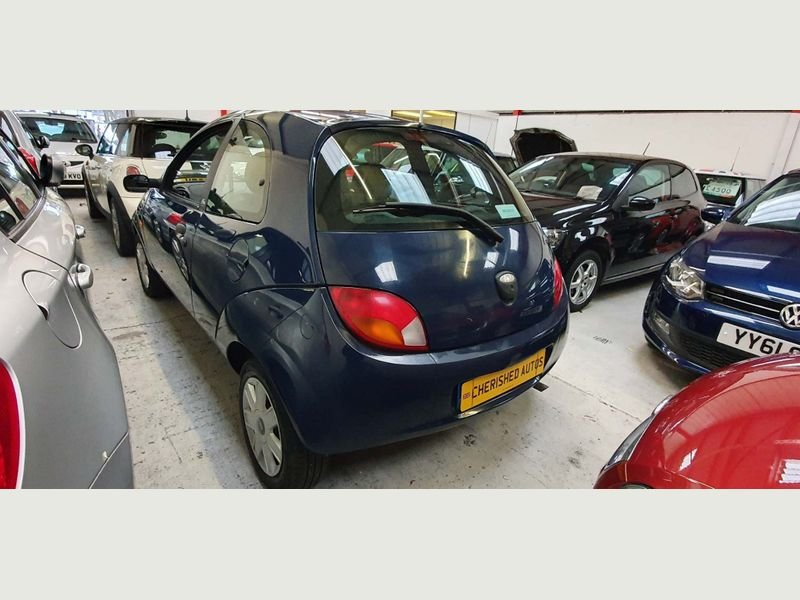 2008 BLUE FORD KA 1.3 STYLE* GENUINE 46,000 MILES*BEAUTIFUL For Sale (picture 2 of 6)