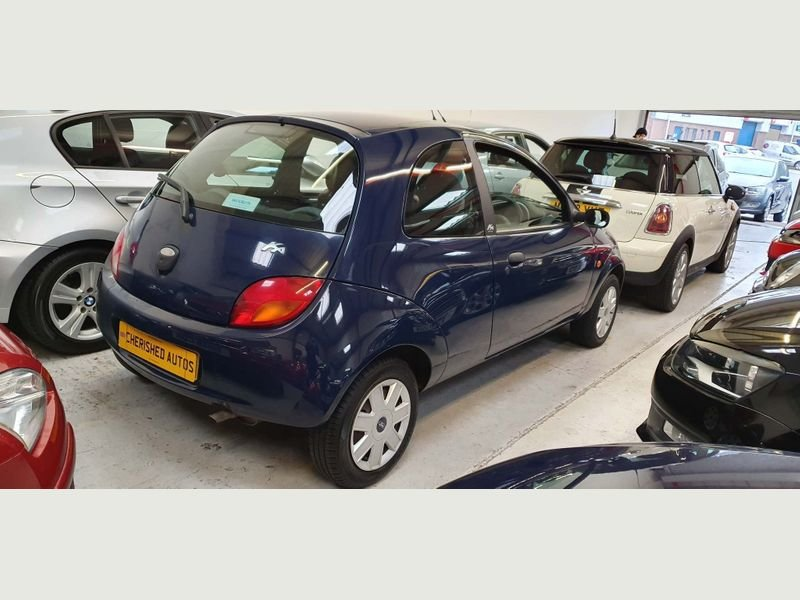 2008 BLUE FORD KA 1.3 STYLE* GENUINE 46,000 MILES*BEAUTIFUL For Sale (picture 4 of 6)