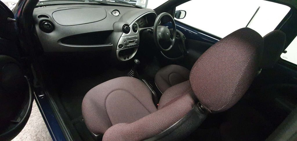 2008 BLUE FORD KA 1.3 STYLE* GENUINE 46,000 MILES*BEAUTIFUL For Sale (picture 6 of 6)
