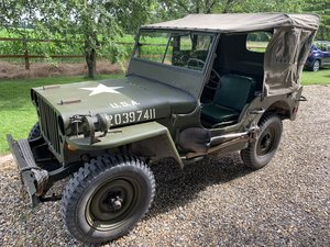 Ford GPW Jeep 1943