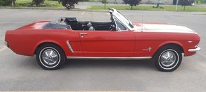 1965 FORD MUSTANG CABRIOLET 289, CODE C   SOLD by Auction