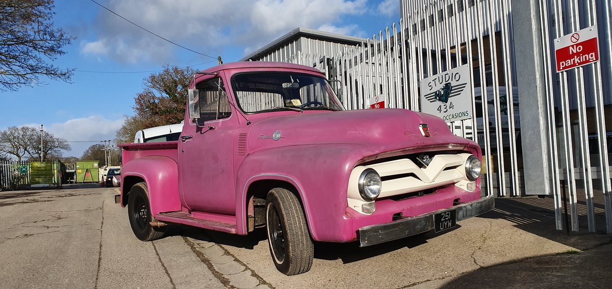 1955 Ford F100 pickup For Sale (picture 3 of 5)