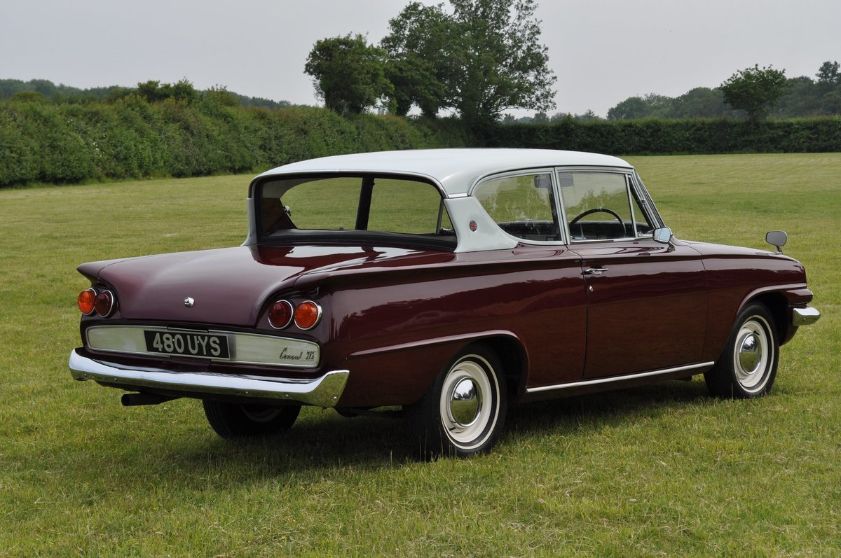 1962 Ford Classic Consul 315 1340cc Classic Car For Sale (picture 6 of 6)