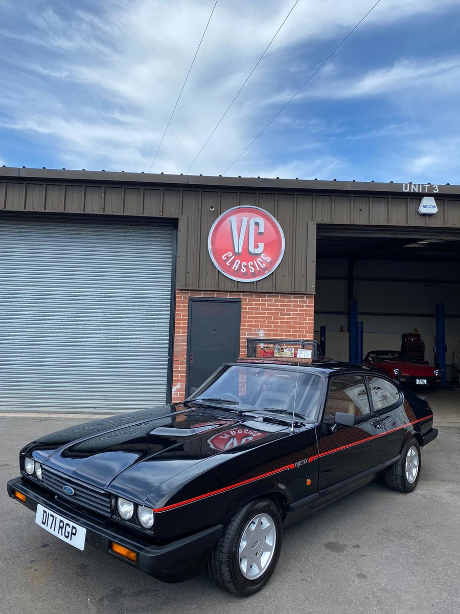 1987 Fully Restored Ford Capri 2.8i special For Sale (picture 1 of 6)