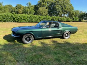 1967 Ford Mustang Fastback V8 Four speed Bullitt looks