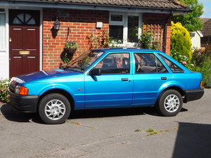 1990 Ford Escort Mk4 1.3 5Dr Saloon For Sale