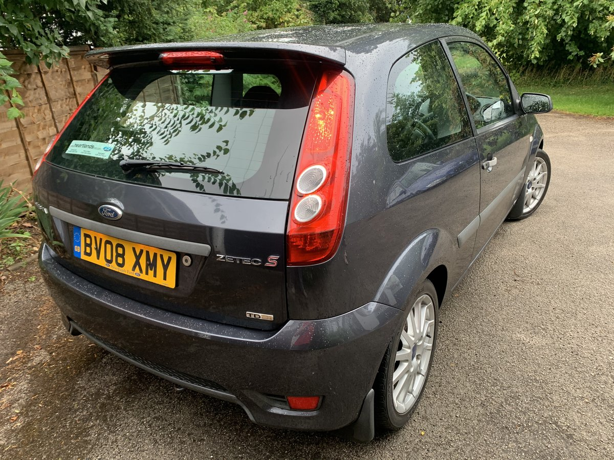 2008 Ford Fiesta Zetec-S TDCI 1owner. SOLD (picture 5 of 6)