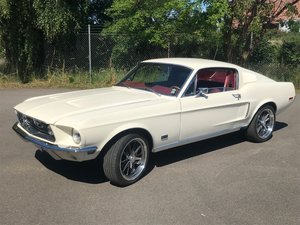 1968 Mustang Fastback GT in pristne condition