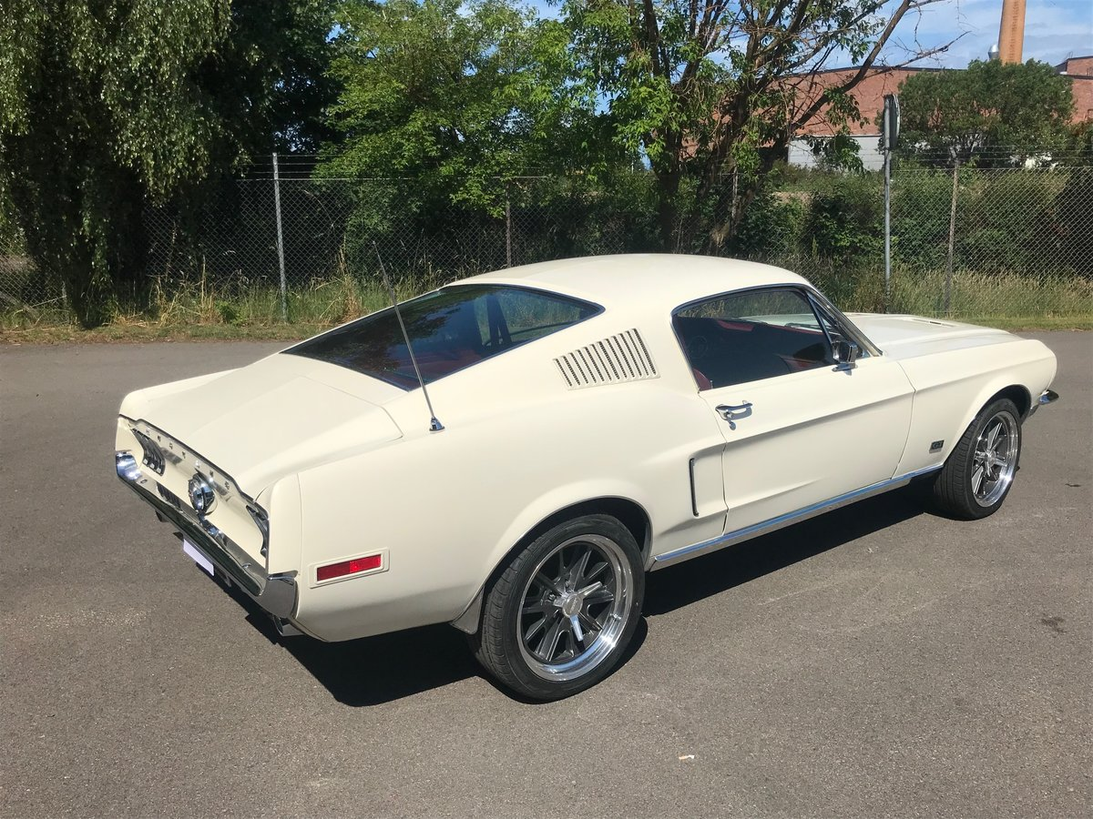 1968 Mustang Fastback GT in pristne condition For Sale (picture 4 of 6)