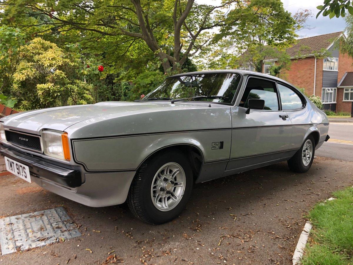 1978 Capri Rare 3.0S Model In Silver SOLD (picture 1 of 6)