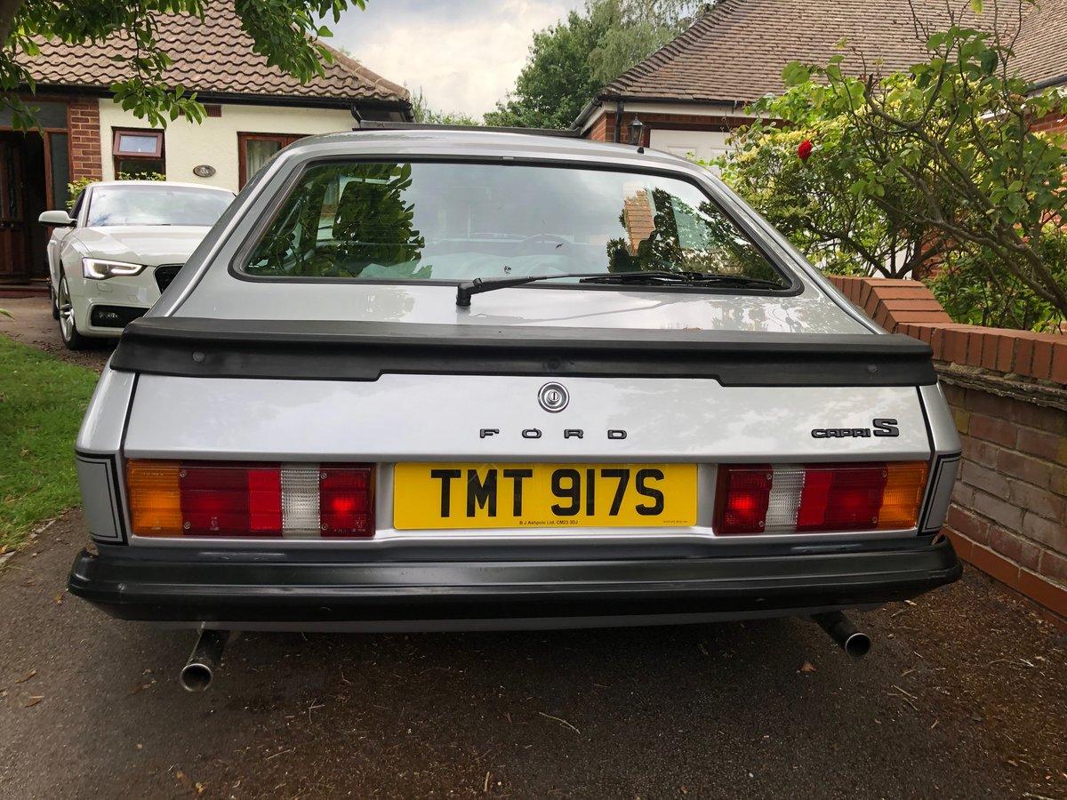 1978 Capri Rare 3.0S Model In Silver SOLD (picture 4 of 6)
